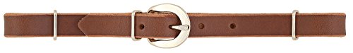 (Weaver Leather Straight Bridle Leather Curb Strap)