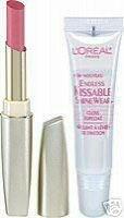 (Loreal Endless Kissable Shinwear Lip Duo #230 Rose Afterglow Lip gloss)