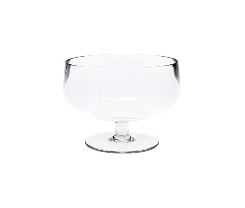 (Zak Designs zak! 10 cm Stacky Ice-Cream Bowl, Transparent )