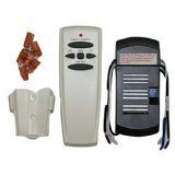 Universal Ceiling Fan Remote Control Kit for CFL and Regular Light Bulbs