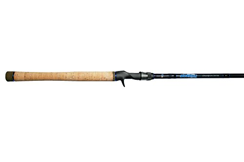 Dobyns Rods 766FLIP Champion Series Heavy Flip Fast Flippin Rod, 7 6 , Black Blue