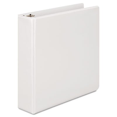 Basic D-Ring Vinyl View Binder, 2'' Capacity, White, Total 6 EA, Sold as 1 Carton by Wilson Jones