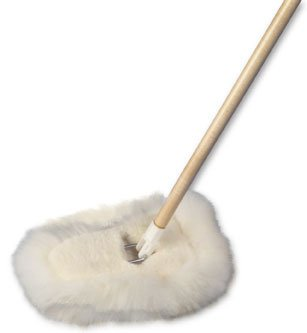 Wool Shop Lamswool Dust Mop Wedge Style (Wedge Mop Dust)