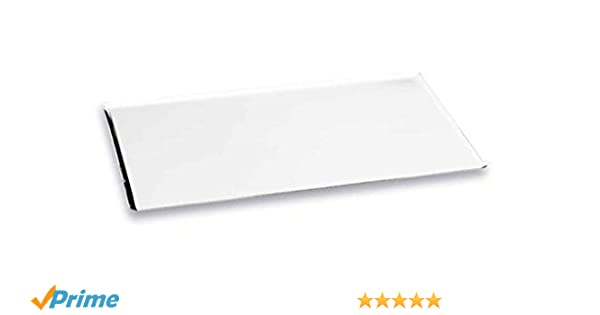 Lacor - 68740 - Placa Horno Inox18% 60x40-Blanco: Amazon.es: Hogar