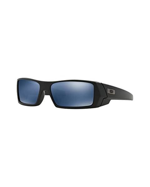 a9f06c5a8ae Oakley Men  39 s Gascan 26-244 Iridium Polarized Rectangular Sunglasses