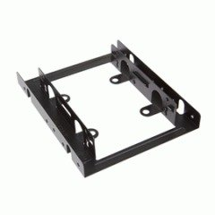 InWin 3.5 to 2.5 HDD Bracketwith Fan 2.5-'' SSD/HDD Mounting Kit for 3.5-'' Drive Bay with60mm Fan by InWin