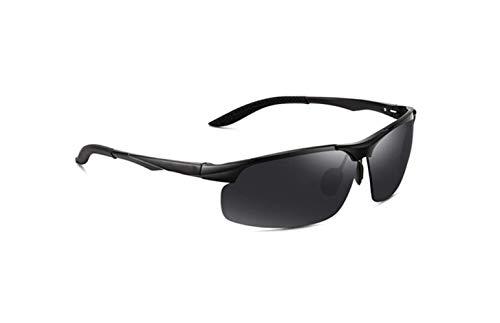 De Conducción Marea De liwenjun De Polarizador Sol Película Gafas Polarizado Negro Anti Gafas Gafas Marco UV Gris Deportes Conductor Moda Sol x05wBq6r57