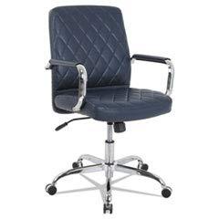 Alera Neratoli High-Back Swivel/Tilt Chair, White Soft-Touch XzcVtK Leather, 4 Pack