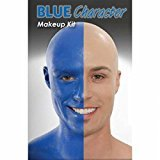[Blue Person Character Makeup Kit] (Group Grease Halloween Costumes)