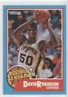 David Robinson (Basketball Card) 1990-91 Fleer - Rookie Sensation #1 -