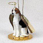 American Foxhound Christmas Ornament - American Fox Hound Pet Angel Ornament