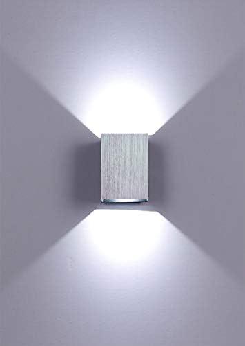 WORLED Lámpara/Aplique LED 3W de Pared Iluminación Interior Forma ...