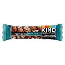 Kind, Nuts & Spices Bar, Dark Chocolate Nuts & Sea Salt (Pack of 18)