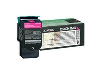 Lexmark C540H1MG High-Yield Toner, 2000 Page-Yield, LEXC540H1MG