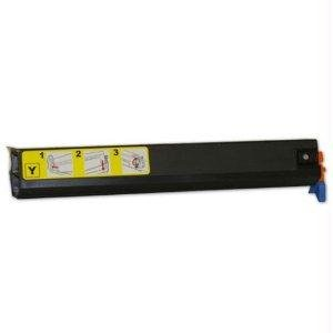 Oki Yellow Toner Cartridge. YELLOW TONER CARTRIDGE TYPE C5 FOR C9300 & C9500 L-SUPL. LED - 15000 Page - Yellow - 1