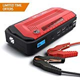 Powerful Jump Starter-1200A Peak ?2018 upgraded? by Spacekey - Portable Car Jump Starter, Auto Battery Pack, Booster Charger with QC3.0 Output and LED Flashlight