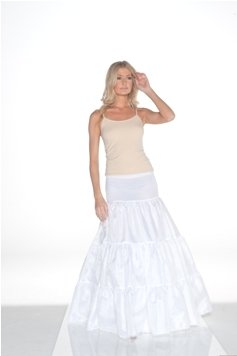 New Medium Full Form Fit Bridal Petticoat Wedding Gown Slip (CH103S) (S/