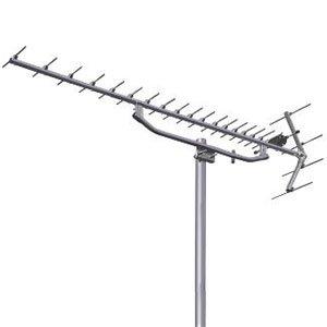 日本アンテナ UHFアンテナ ステンレスタイプ 全帯域用 素子数20 アタック型反射器 KU20S   B0756S3VDL