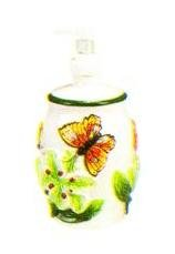 BUTTERFLY 3-D Soap / Lotion Dispenser NEW