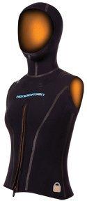 Henderson Hooded Vest (7/5mm Women's Henderson AQUA LOCK Hooded Vest - 6 )