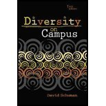 Diversity on Campus, Schuman, David, 0757512348