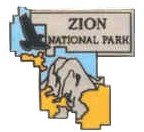 Zion National Park Pin (Nationals Pin)