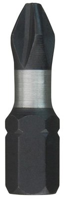 Milwaukee Elec Tool 48-32-4413 Power Screwdriver Bit, 3 Phillips, 1-In, 2-Pk. - Quantity 3