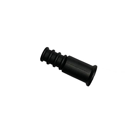 Weather Boot Coax RG6 RG59 Outdoor Coaxial Cable 10 Pack Single Moisture Water Tight Rubber Boot RG-59 RG-6 Coax Cable End Over Boot Cover (Coaxial Rubber Boot)