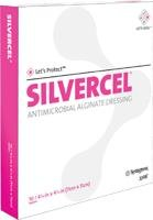 53800408 - Silvercel Antimicrobial Alginate Dressing 4 x 8 (Alginate Silvercel Antimicrobial Dressing)