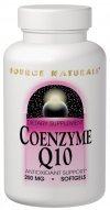 Source Naturals Coenzyme Q10 100 mg,  Supernutrient Energizer and Antioxidant,90 Softgels