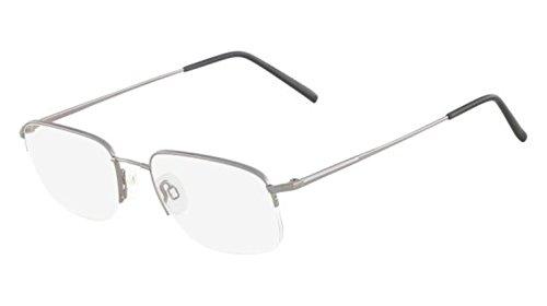 Flexon Flexon 606 Eyeglasses 033 Light Gunmetal Demo 54 19 - Eyeglasses Flexon