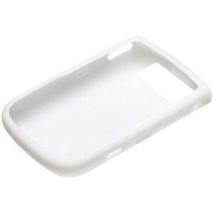 BlackBerry 9630 Skin Cover Case (White) (Rubberized Case 9630)