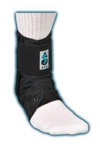 264017 Orthosis Ankle Stabilizer ASO Nylon Black 2XL Low Profile Part# 264017 by Medical Specialties Qty of 1 Unit