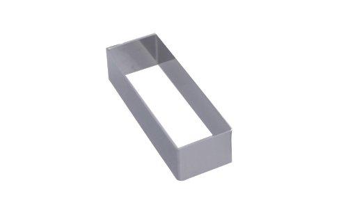 De Buyer Rectangular Ring 5 cm, Silver 394305
