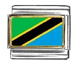 Clearly Tanzania Flag...
