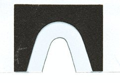 CRL Template for SGC188 Square Glass-to-Glass Movable Transom Clamp by C.R. Laurence