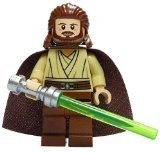 qui gon jinn figure - LEGO Star Wars Minifigure - Qui-Gon Jinn Classic Version with Lightsaber