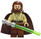 LEGO Star Wars Minifigure - Qui-Gon Jinn Classic Version with -