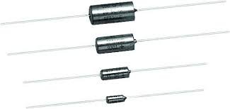 T332A105J020AS 1uf 20V 5% Axial Lead Tantalum Capacitor (2 pieces)