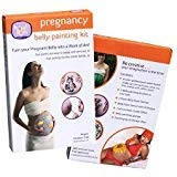 ProudBody Pregnancy Belly Painting Kit | Featuring Stencils, Glitter and Stamps