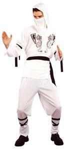 Disfraz blanco de ninja para hombre: Amazon.es: Juguetes y ...