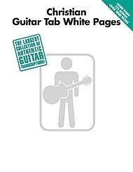 Hal Leonard Christian Guitar Tab White Pages