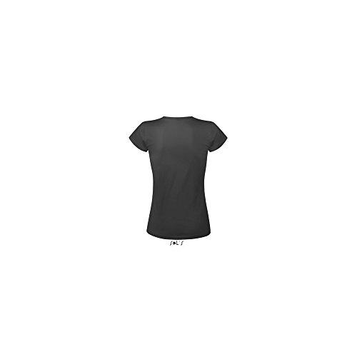 SOL´S Women´s T-Shirt Must, Größe:XL, Farbe:Dark Grey (Solid)