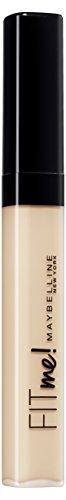 Maybelline New York Fit Me! Concealer Fair 15 / Abdeckstift in naturellem Braun-Ton, Teint-Make-Up gegen Hautunebenheiten, 1 x 6,8 g