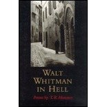 Walt Whitman in Hell : Poems, Hummer, T. R., 0807120618
