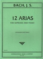(Bach, J.s. 12 Arias for Soprano and Piano )
