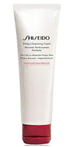 - Shiseido Deep Cleansing Foam for Oily to Blemish-Prone Skin 4.4oz / 125ml
