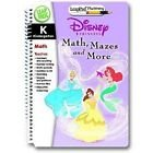 Educational Cartridge - LeapFrog LeapPad Plus Writing Educational Interactive Book & Cartridge Kindergarten: Disney Princesses Math, Mazes and More (LeapPad Plus Writing)