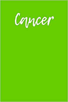 Book Cancer: Blank Lined Journal - 6x9 - Zodiac Sign (Horoscope Series)