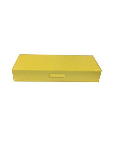 50 Capacity Slide Storage Box, Yellow. 97-0059